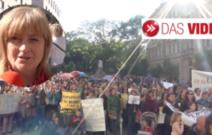 Die Demo der Kindergärtnerinnen