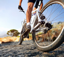 Sturz mit dem Mountainbike