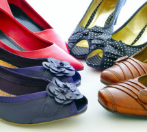 Neben den Schuhen