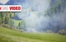 Hubschrauber in Pfunders abgestürzt