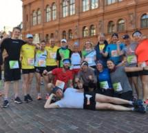 Erfolgreiche Marathonläufer