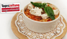 Mozzarella-Tomaten-Lasagne