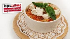 Lasagne mit Büffelmozzarella