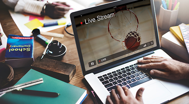 Live Stream Video Multimedia Concept Computer PC (123rf)
