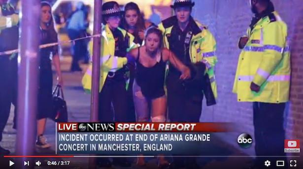 Manchester: Theresa May verurteilt Anschlag auf Ariana-Grande-Konzert