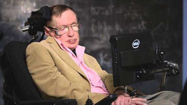 Stephen Hawking (Foto: Youtube)