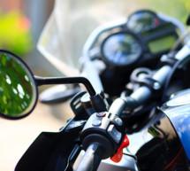 Schwerer Motorradunfall