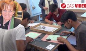 Test für Flüchtlinge
