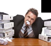 Verärgerte Buchhalter