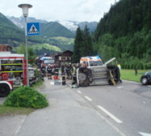 Crash in Luttach