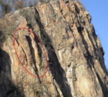 Die gefährliche Felswand