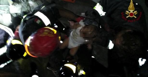 Das gerettete Baby