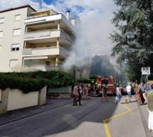 Explosion in Meraner Wohnung