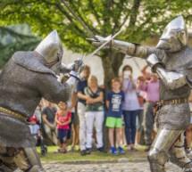 Ritter auf Schloss Tirol