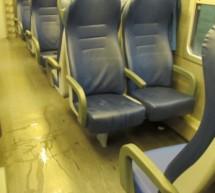Wasser im Zug