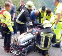 Unfall in Barbian