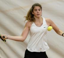 Verena im Halbfinale