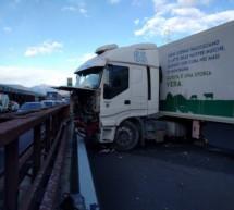 Lkw-Crash auf A22