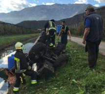 Traktorunfall in Auer