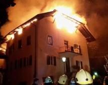 Großbrand in Nals