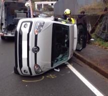 Unfall in Blumau