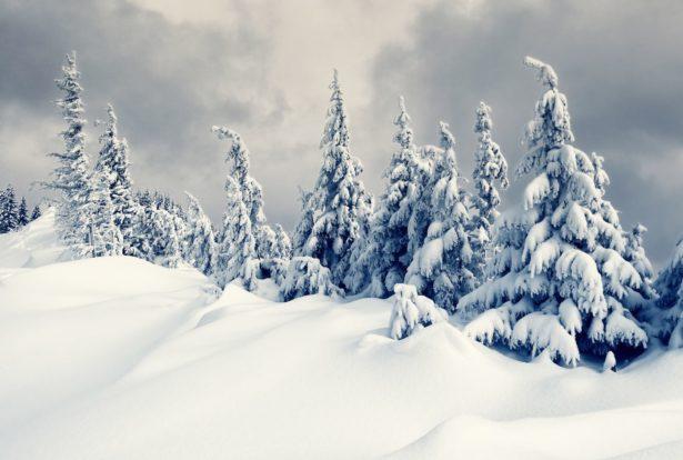 Wintereinbruch in den Alpen: Schneefall auch in Tälern
