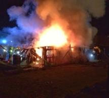 Feuer in Milland