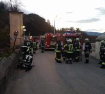 Feuer in Kaltern