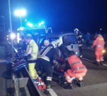 Unfall auf der Brücke