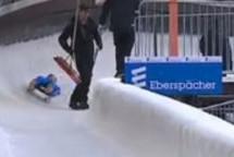Schock im Eiskanal