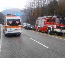 Crash in Antholz