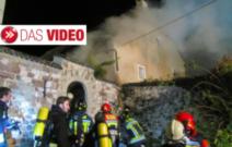 Brand im Schloss
