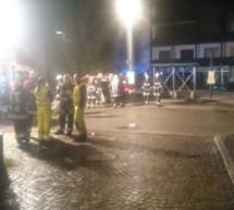 Brand im Gemeindehaus