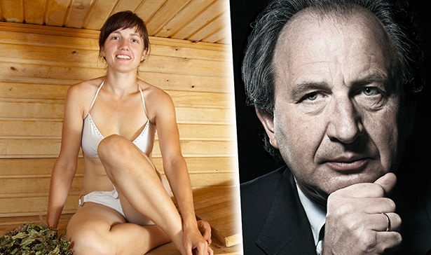mann und frau nackt in der sauna
