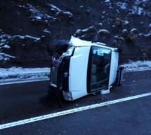 Unfälle aus eisglatter Fahrbahn