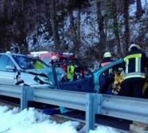 Crash in Salurn