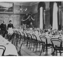 Zimmermädchen im Jahr 1900