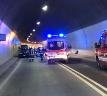 Crash im Tunnel