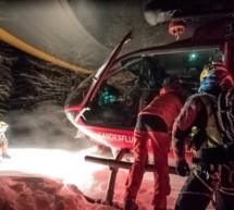 Tödlicher Sturz in Skihütte