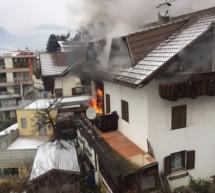 Balkonbrand in Brixen