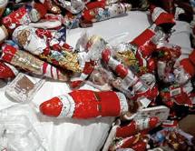 Nikolaus im Müll