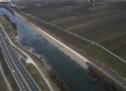 Gesicherter Damm
