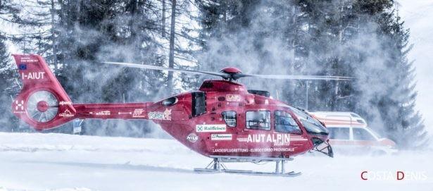 Skiunfall in St. Kassian