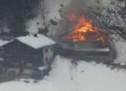 Bauer bei Brand verletzt
