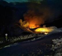 Großbrand in Passeier