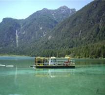 Entschlammter See