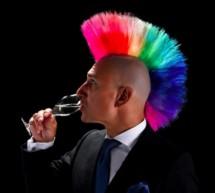 Sprudelnder Cocktail