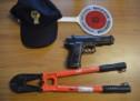 Mit Spielzeugpistole unterwegs
