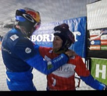 Sieg des Snowboard-Teams