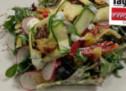 Ziegenkäse im Zucchini-Mantel
